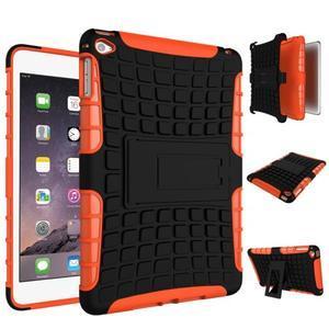 Outdoor odolný obal pre tablet iPad mini 4 - oranžový - 2