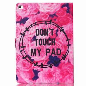 Knížkové puzdro pre tablet iPad mini 4 - nedotýkať sa - 2