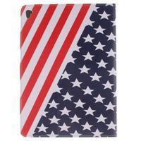 Knížkové puzdro pre tablet iPad Pro 9.7 - US vlajka - 2/7