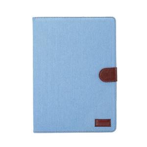 Jeans štýlové puzdro pre iPad Pro 9.7 - svetlomodré - 2