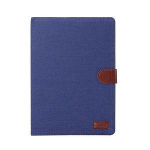 Jeans štýlové puzdro pre iPad Pro 9.7 - tmavomodré - 2
