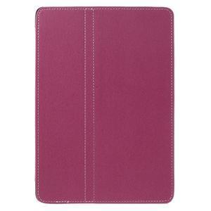 Clothy PU kožené pouzdro na iPad Pro 9.7 - rose - 2
