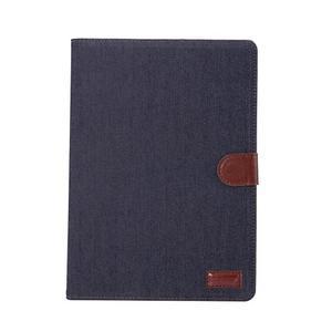 Jeans stylové pouzdro na iPad Pro 9.7 - černomodré - 2