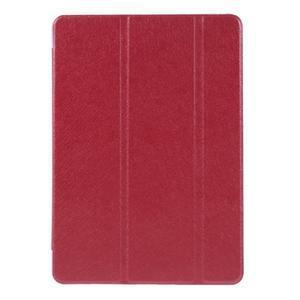 Trifold polohovatelné pouzdro na tablet iPad Pro 9.7 - červené - 2