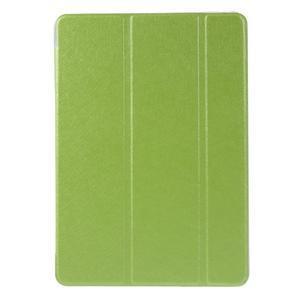 Trifold polohovatelné pouzdro na tablet iPad Pro 9.7 - zelené - 2