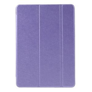 Trifold polohovateľné puzdro pre tablet iPad Pro 9.7 - fialové - 2