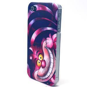 Emotive gélový obal pre mobil iPhone 4 - kocour - 2
