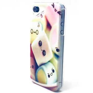 Emotive gélový obal pre mobil iPhone 4 - kokina - 2