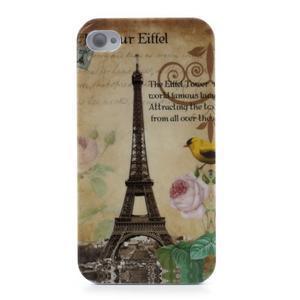 Gelový obal na iPhone 4 - Eiffelova věž - 2