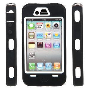 Armor vysoce odolný obal pre iPhone 4 - čierne - 2