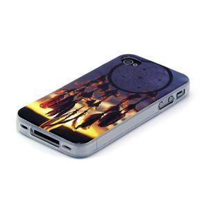 Emotive gélový obal pre mobil iPhone 4 - snívanie - 2