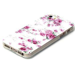 Gelový obal na mobil iPhone SE / 5s / 5 - květiny - 2