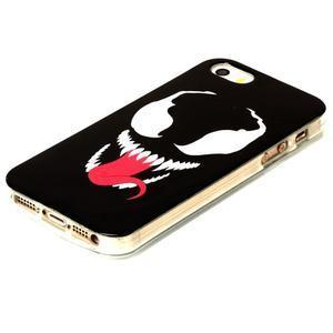 Gelový obal na mobil iPhone SE / 5s / 5 - příšera - 2