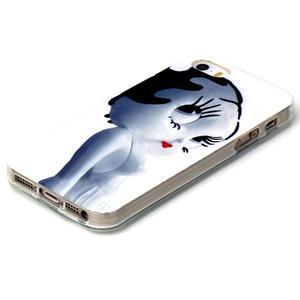 gélový obal pre mobil iPhone SE / 5s / 5 - mačička - 2