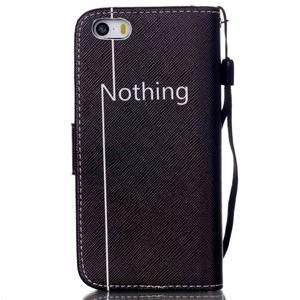 Peňaženkové puzdro pre mobil iPhone SE / 5s / 5 - nothing - 2