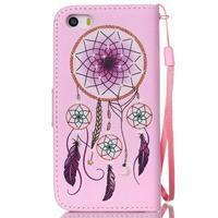 Peňaženkové puzdro pre mobil iPhone SE / 5s / 5 - dream - 2/7