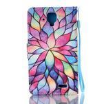 Emotive pouzdro na mobil Lenovo A536 - barevné lístky - 2/6