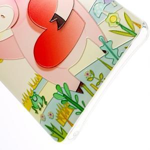 Softy gélový obal pre mobil Lenovo A7000 / K3 Note - zamilované prasátko - 2