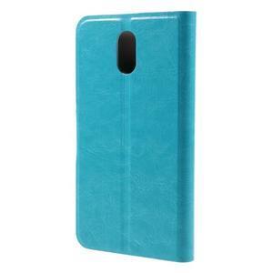 Horse peňaženkové puzdro pre Lenovo Vibe P1m - modré - 2