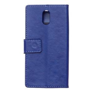 GX koženkové peňaženkové pre mobil Lenovo Vibe P1m - modré - 2
