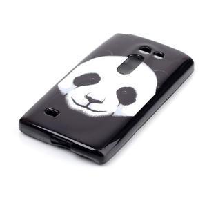 Softy gelový obal na LG Leon - panda - 2