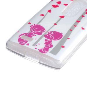 Jelly gélový obal pre mobil LG Leon - láska - 2