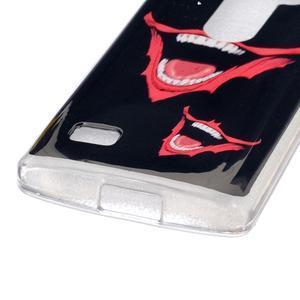 Jelly gélový obal pre mobil LG Leon - huba - 2