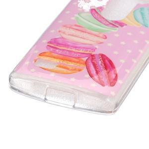 Jelly gelový obal na mobil LG Leon - makrónky - 2