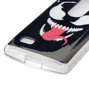 Jelly gélový obal pre mobil LG Leon - monster - 2