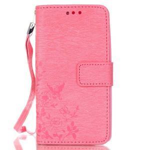 Magicfly puzdro pre mobil LG Leon - rose - 2