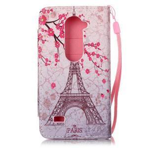 Royal puzdro pre mobil s magnetickou sponou na LG Leon - Eiffelova veža - 2