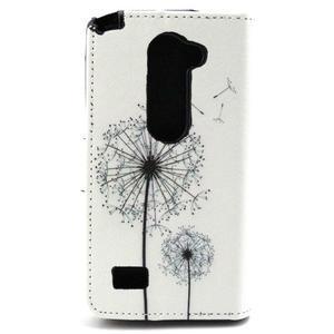 Style peňaženkové puzdro pre LG Leon - púpavy - 2