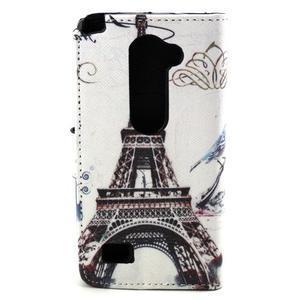 Style peněženkové pouzdro na LG Leon - Eiffelova věž - 2