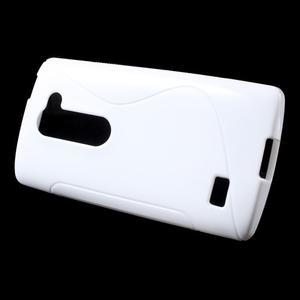 S-line gelový obal na mobil LG Leon - bílý - 2