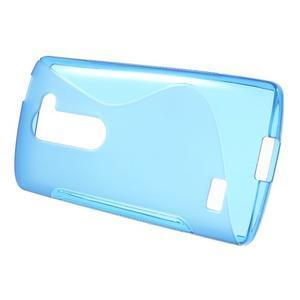 S-line gélový obal pre mobil LG Leon - modrý - 2