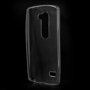 Ultratenký gélový obal pre mobil LG Leon - transparentný - 2