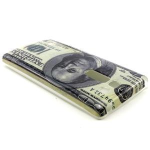 Gélový kryt na mobil LG Spirit - bankovka - 2