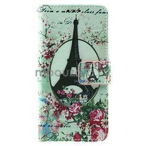 Peňaženkové puzdro pre LG Spirit - Eiffelova veža - 2