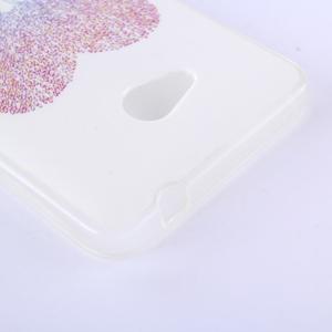 Softy gelový obal na mobil Microsoft Lumia 640 LTE - zamilovaní sloni - 2