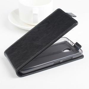 Flipové puzdro pre mobil Lenovo A5000 - čierné - 2