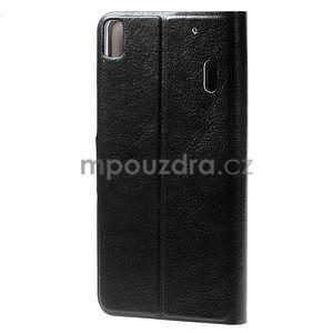 Hardy peňaženkové puzdro pre Lenovo A7000 a Lenovo K3 Note - čierne - 2