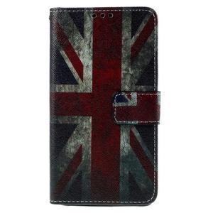 Cross peňaženkové puzdro na Xiaomi Mi4 - UK vlajka - 2