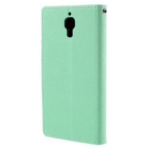 Mr. Fancy peňaženkové puzdro na Xiaomi Mi4 - azurové - 2
