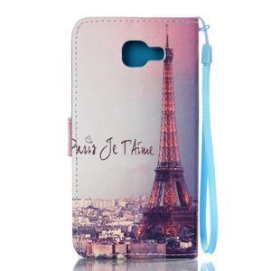 Pictu puzdro pre mobil Samsung Galaxy A3 (2016) - Eiffelova veža - 2