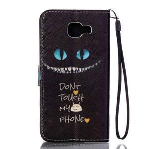 Pictu puzdro pre mobil Samsung Galaxy A3 (2016) - nedotýkať sa - 2