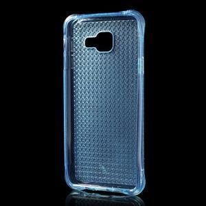 Diamonds gélový obal pre Samsung Galaxy A3 (2016) - modrý - 2