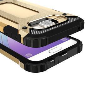Extreme outdoor kryt 2v1 pre mobil Samsung Galaxy A3 (2016) - zlatý - 2