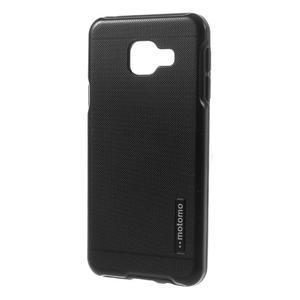 Odolný ochranný obal 2v1 pre mobil Samsung Galaxy A3 (2016) - čierný - 2