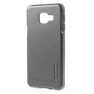 Odolný ochranný obal 2v1 pre mobil Samsung Galaxy A3 (2016) - šedý - 2