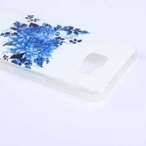Softys gelový obal na mobil Samsung Galaxy A3 (2016) - květiny - 2
